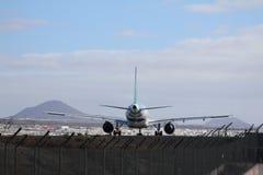 Αεροπλάνο έτοιμο για την απογείωση Στοκ φωτογραφίες με δικαίωμα ελεύθερης χρήσης