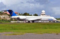 Αεροπλάνο αέρα Insel Στοκ εικόνα με δικαίωμα ελεύθερης χρήσης