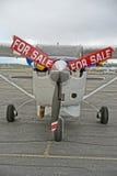 Αεροπλάνο για την πώληση Στοκ Εικόνες