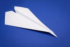 αεροπλάνο εγγράφου Στοκ Φωτογραφίες