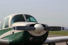 αεροπλάνο ιδιωτικό Στοκ φωτογραφία με δικαίωμα ελεύθερης χρήσης