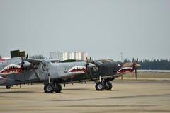 Αεροπλάνο καρχαριών Στοκ Φωτογραφία