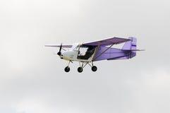 Αεροπλάνο κατά την πτήση Στοκ Εικόνα