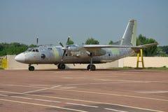 Αεροπλάνο κατά τη διάρκεια του ελέγχου Στοκ Εικόνες
