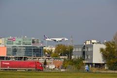 Αεροπλάνο ΜΕΡΏΝ PLL Στοκ φωτογραφία με δικαίωμα ελεύθερης χρήσης