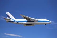 Αεροπλάνο μεταφοράς εμπορευμάτων Στοκ εικόνα με δικαίωμα ελεύθερης χρήσης