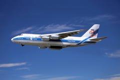 Αεροπλάνο μεταφοράς εμπορευμάτων Στοκ Φωτογραφία