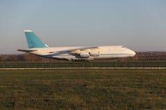 Αεροπλάνο μεταφοράς εμπορευμάτων Στοκ Εικόνα