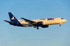 Αεροπλάνο μεταφοράς εμπορευμάτων Στοκ εικόνες με δικαίωμα ελεύθερης χρήσης