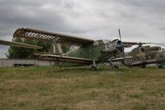 αεροπλάνο παλαιό στοκ εικόνα με δικαίωμα ελεύθερης χρήσης