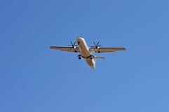 Αεροπλάνο προωστήρων επιβατών Στοκ εικόνα με δικαίωμα ελεύθερης χρήσης