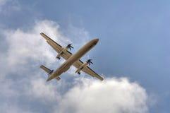 Αεροπλάνο προωστήρων Στοκ Εικόνα