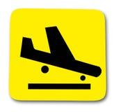 Αεροπλάνο σημαδιών Στοκ Εικόνες