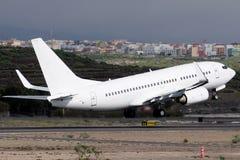 Αεροπλάνο στην απογείωση στοκ εικόνες