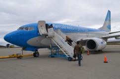 Αεροπλάνο στην Αργεντινή Στοκ Εικόνα