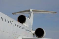 Αεροπλάνο στην πτήση Στοκ εικόνα με δικαίωμα ελεύθερης χρήσης
