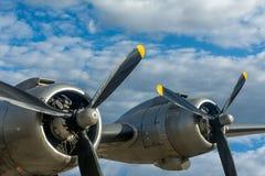 Αεροπλάνο στο Βερολίνο Tempelhof Στοκ φωτογραφία με δικαίωμα ελεύθερης χρήσης