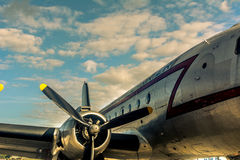 Αεροπλάνο στο Βερολίνο Tempelhof Στοκ φωτογραφίες με δικαίωμα ελεύθερης χρήσης