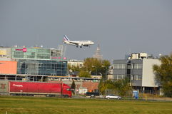 Αεροπλάνο Air France Στοκ Εικόνες