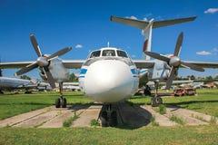 Αεροπλάνο Antonov ένας-24 Στοκ εικόνα με δικαίωμα ελεύθερης χρήσης