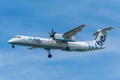 Αεροπλάνο Flybe γ-ECOG Στοκ εικόνα με δικαίωμα ελεύθερης χρήσης