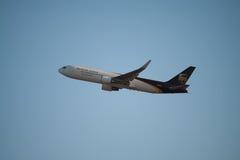 Αεροπλάνο UPS Στοκ φωτογραφίες με δικαίωμα ελεύθερης χρήσης