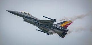 Αεροσκάφη αεριωθούμενων αεροπλάνων F-16 Στοκ Εικόνες