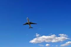 Αεροσκάφη απογείωσης Στοκ Φωτογραφίες