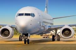 Αεροσκάφη επιβατών Στοκ φωτογραφία με δικαίωμα ελεύθερης χρήσης