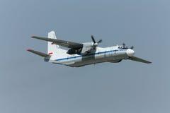 Αεροσκάφη δοκιμής μετά από την επισκευή Στοκ Εικόνες