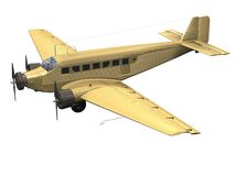 αεροσκάφη παλαιά Στοκ Φωτογραφίες