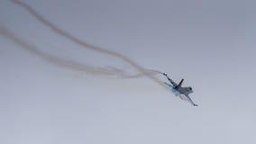Αεροσκάφη πολεμικό τζετ F-16 Στοκ φωτογραφίες με δικαίωμα ελεύθερης χρήσης