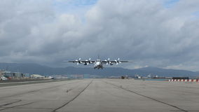 Αεροσκάφη προωστήρων απογείωσης απόθεμα βίντεο