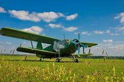 Αεροσκάφη στον αερολιμένα Στοκ Εικόνες