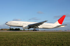 Προσγειωμένος αεροσκάφη Στοκ εικόνες με δικαίωμα ελεύθερης χρήσης