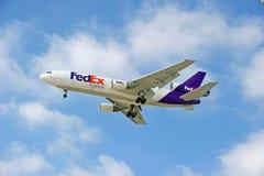 Αεροσκάφη φορτίου της Fedex Στοκ εικόνα με δικαίωμα ελεύθερης χρήσης