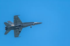 Αεροσκάφη φ-18 Hornet Στοκ Φωτογραφία