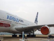 A380 αεροσκάφη Στοκ εικόνα με δικαίωμα ελεύθερης χρήσης