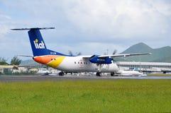 Αεροσκάφη LIAT Στοκ φωτογραφία με δικαίωμα ελεύθερης χρήσης