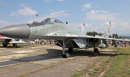 Αεροσκάφη mig-29 υπομόχλιο στοκ εικόνα με δικαίωμα ελεύθερης χρήσης