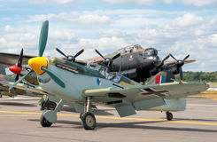 αεροσκάφη ww2 Στοκ Φωτογραφία