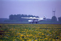 2 3 αεροσκαφών αεροπορίας παλαιά ρωσική εκδοχή μουσείων συνεχούς η διάσημη Κρακοβία λι lisunov πρότυπη ήταν Στοκ Εικόνα