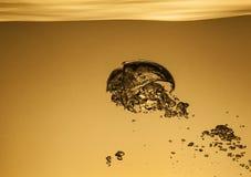 Αεροφυσαλίδες στο νερό Στοκ Φωτογραφίες