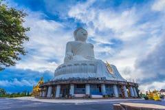 αεροφωτογραφία το άσπρο μεγάλο Phuket's ο μεγάλος Βούδας στοκ εικόνα με δικαίωμα ελεύθερης χρήσης