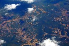 αεροφωτογραφία Στοκ εικόνες με δικαίωμα ελεύθερης χρήσης