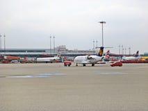 Αερολιμένας Αμβούργο, Γερμανία Στοκ φωτογραφίες με δικαίωμα ελεύθερης χρήσης