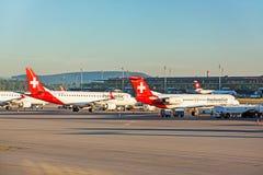 Αερολιμένας Ζυρίχη - άποψη αεροδρομίων Στοκ φωτογραφία με δικαίωμα ελεύθερης χρήσης