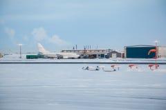 Αερολιμένας κόλπων Prudhoe στοκ φωτογραφία με δικαίωμα ελεύθερης χρήσης
