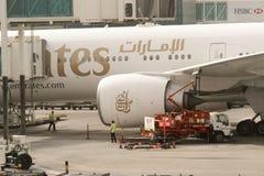 αερολιμένας Ντουμπάι διεθνές Στοκ Φωτογραφίες