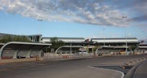 Αερολιμένας, ουρανός, χώρος στάθμευσης Στοκ Εικόνα